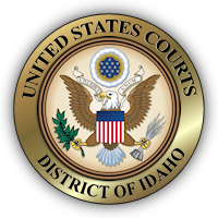 US Courts District of Idaho Seal